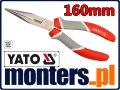 Szczypce wydłużone proste cęgi 160mm YATO 2016