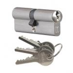 Wkładka bębenkowa do zamka drzw Medos 30/50 nikiel