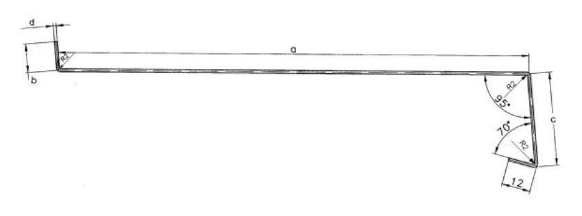 Nowość Parapet zewnętrzny stalowy blacha antracyt 225mm - Parapety VB87