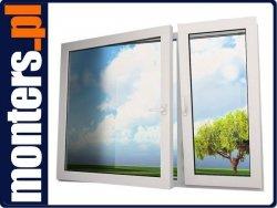 Okno PCV 1450x1220 EKOSUN R+UR niesymetryczne