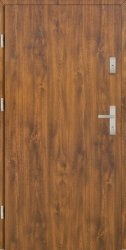 Drzwi PTZ55 80N Lewe Złoty dąb Gładkie 864x2075