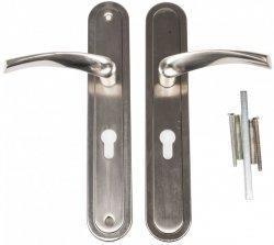 Klamka XLD C drzwi wejściowych zewnętrz 72mm prawa