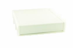 Parapet wewnętrzny plastikowy PCV biały 150mm 1mb