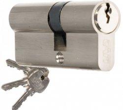 Wkładka CAM EKO 30/50 nikiel zamka drzwi furtki