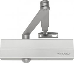 Samozamykacz Assa Abloy DC140 r. z blokadą srebrny