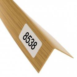 Kątownik uniwersalny 25x25 składany jasny dąb 2,7m płaskownik