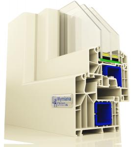Okna PCV Aluplast Ideal 8000 Okno energooszczędne - pomiar