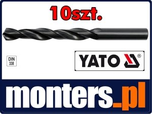 Wiertło do stali metalu hss 4mm YATO 4438 10szt