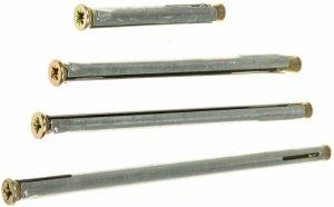 Kotwa łącznik do ościeżnic drzwi KO 10x72 100szt