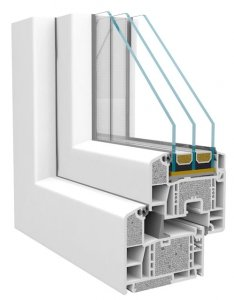 Okna PCV Rehau Geneo Okno energooszczędne - pomiar