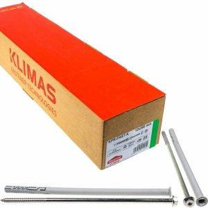 Kołki ramowe rozporowe 12x260 KLUCZ+TX torx 25szt