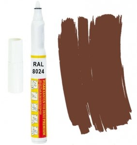 Kanten FIX RAL 8024 brązowy beżowy Pisak retusz
