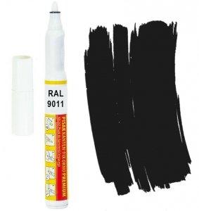 Kanten FIX RAL 9011 czarny grafitowy Pisak retusz