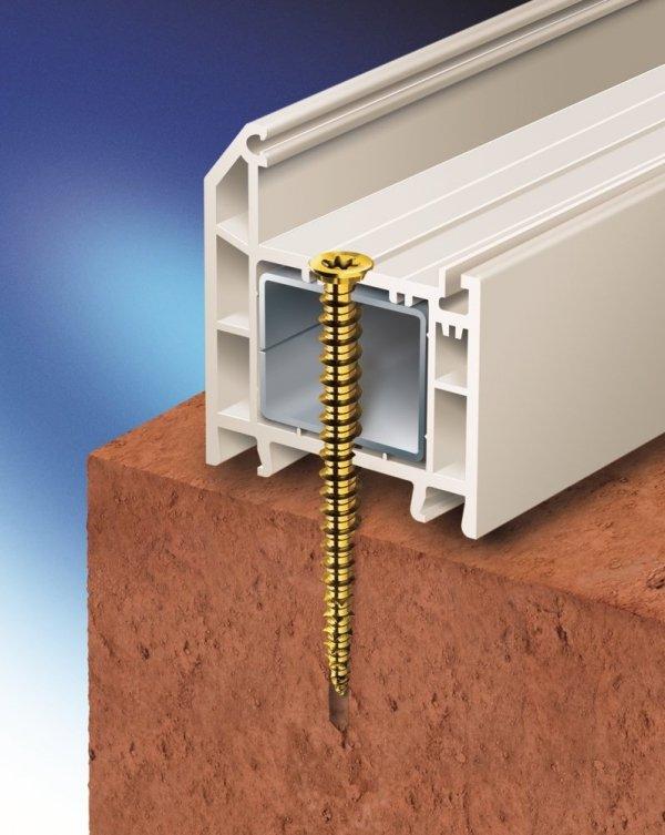 SKO 7,5x72 Wkręt do montażu okien i drzwi 100szt.