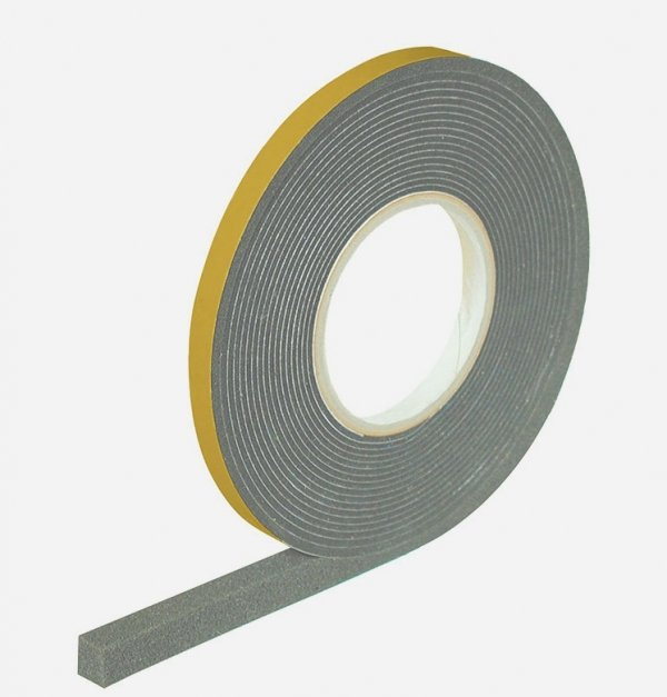 Taśma rozprężna Integra DB 20x4-20mm 15m szara/czarna