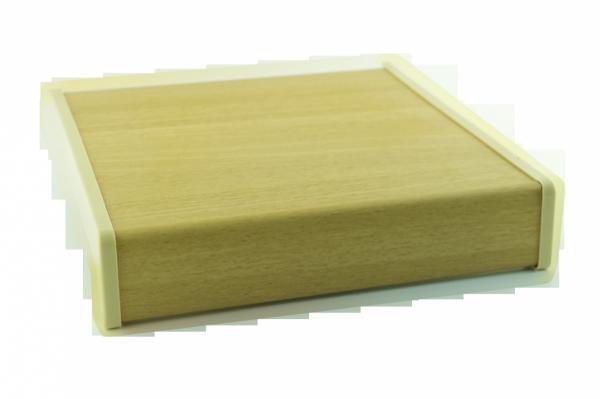 Parapet wewnętrzny plastikowy PCV olcha 150mm 1mb