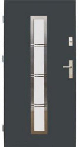 Drzwi wejściowe zewnętrzne Wikęd Premium wzór 12b