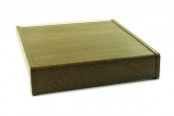 Parapet wewnętrzny plastikowy PCV orzech 100mm 1mb