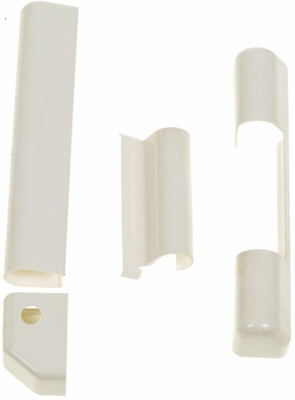 Osłonki Roto na zawiasy do okien PCV białe