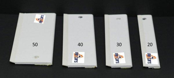 Płaskownik okienny przyl. uszczelka biały 2x240cm