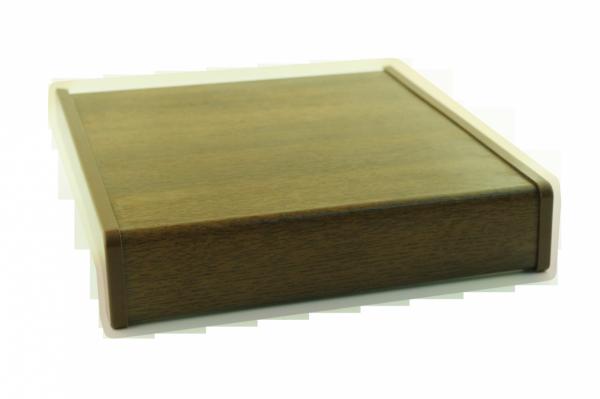 Parapet wewnętrzny plastikowy PCV orzech 250mm 1mb