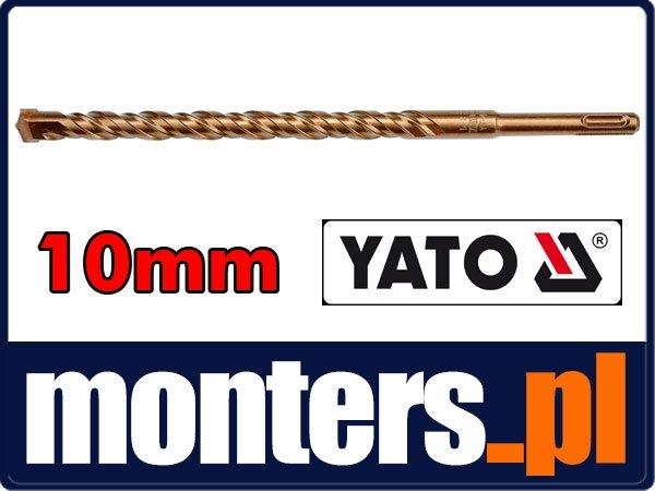 Wiertło do betonu 10x160mm sds plus 3pnt YATO 4170