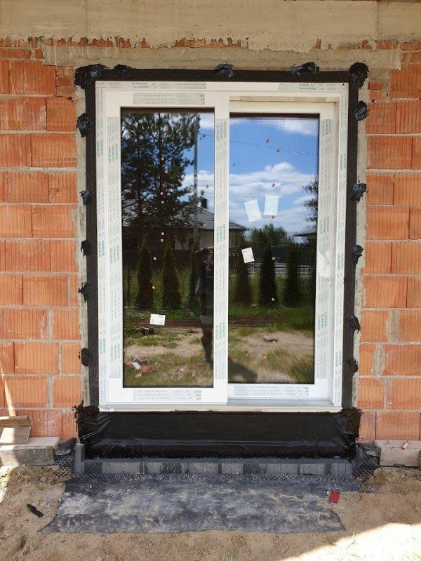 Taśma EPDM Pełny klej 20cm/20m folia membrana okna