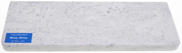 Misty White parapet konglomerat 2cm m2