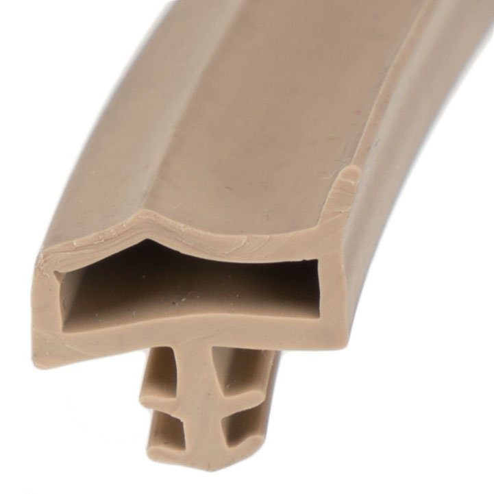 Details About Gasket Kd14 Beige Wooden Door Rubber Seal 1rm