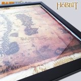 [MAC-55] The Hobbit™ Oprawiona Mapa Śródziemia Middle Earth LOTR