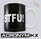 [UG-88] Acronymikz™ STFU! Kubek Gracza Akronim Shut The Fuck Up!