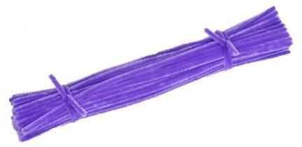 Druciki kreatywne fiolet - 5 paczek po 100szt.
