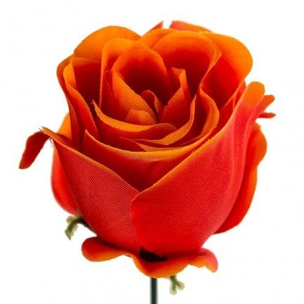 Główka Róża 6cm W141-14 [Komplet - 12sztuk]