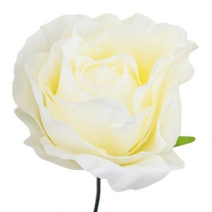 Główka Róża 7,5cm W146-01 [Komplet - 12sztuk]