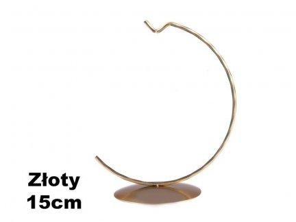 Stojaki Pełne Złote na Bombkę 15cm [Komplet - 20 Sztuk]