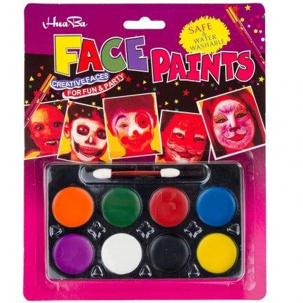 Farby Do Malowania Twarzy [Komplet - 12szt]