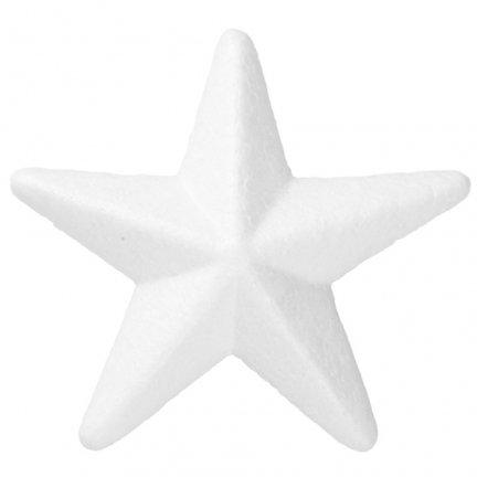 Gwiazdka Styropianowa 17cm [Komplet - 20sztuk]