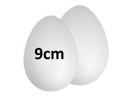 Jajka Styropianowe 9cm [Komplet-Zestaw 500szt]