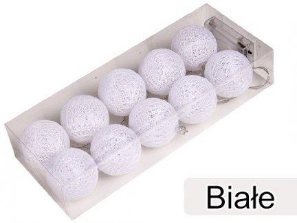 Cotton Balls Kolor Biały [Zestaw - 5 Kompletów]