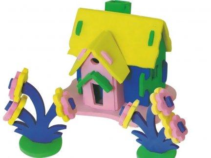 Zestaw Domek 3D Mały 6 [komplet 10 sztuk]