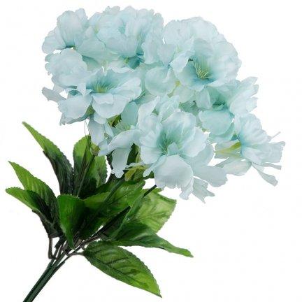 Bukiet Hortensja Błękit [ Komplet 5szt ]