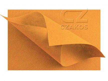 Filc 2mm Duży 30x40cm Jasny Pomarańcz [ZESTAW 10 SZTUK]