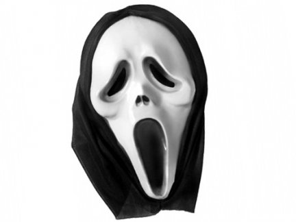 Maska Krzyk [ Komplet 10szt ]