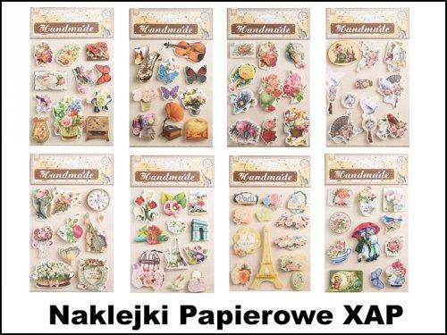 Naklejki Papierowe XAP