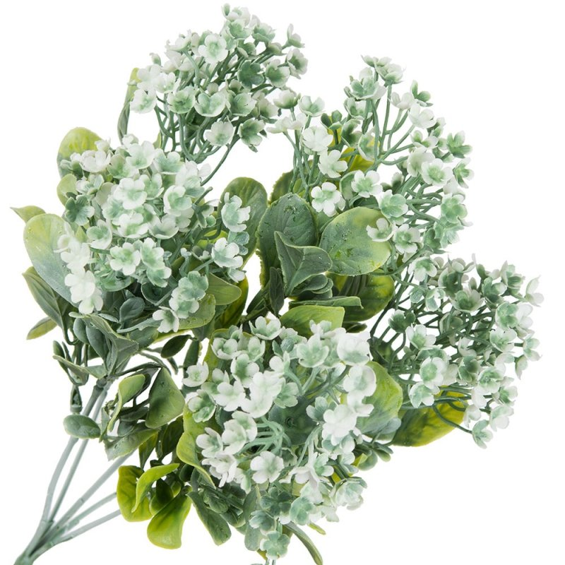 Bukiet Kwiatki Biały [Komplet 3szt]