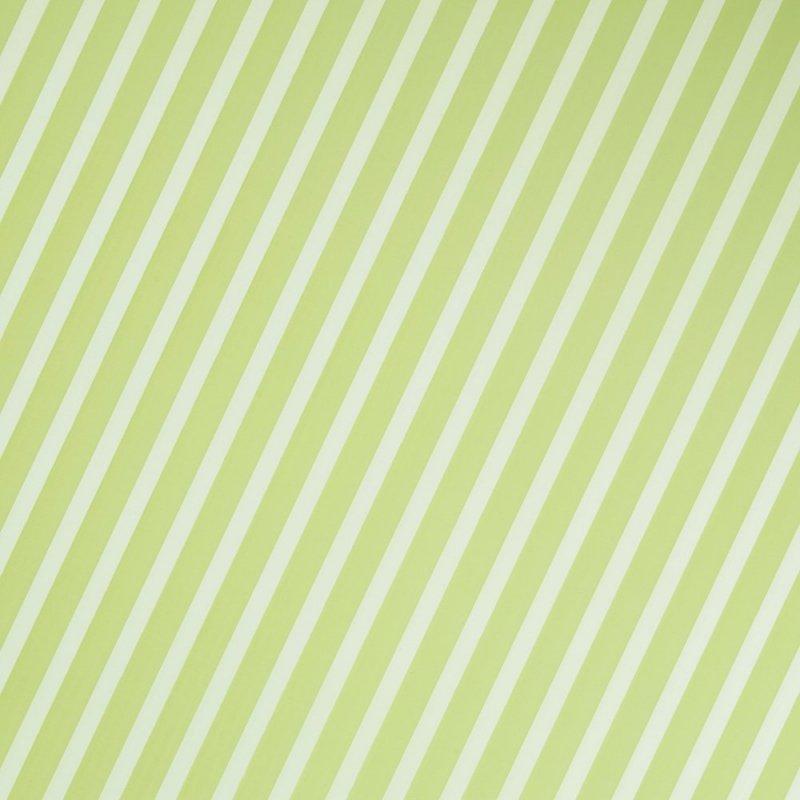 Folia Ozdobna Do Pakowania Zielona W Paski Zbliżenie