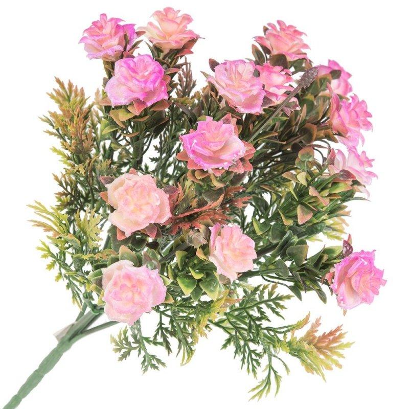 Gałązka Dekoracyjna Różowe Róże