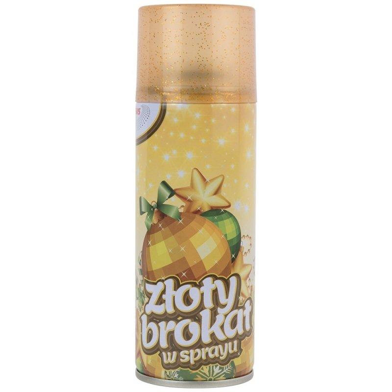 Brokat w Sprayu Złoty [Komplet - 24 sztuk]