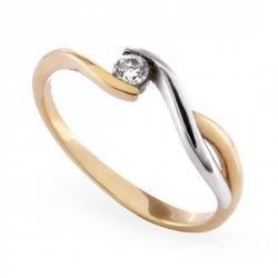 ARTES-Pierścionek złoty zaręczynowy A-56/375