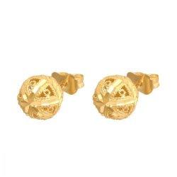 Złote kolczyki 585 - Kv097